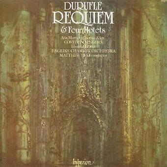 M. Durufle - Maurice Durufl : Requiem; Quatre Motets [CD] USA import