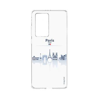 Hull For Huawei P40 Pro Souple Monuments De Paris