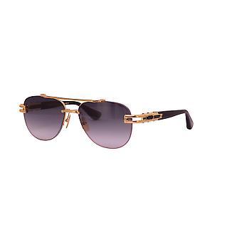 DITA Grand-Evo Two DTS139 A Yellow Gold-Black/Dark Grey Gradient Sunglasses