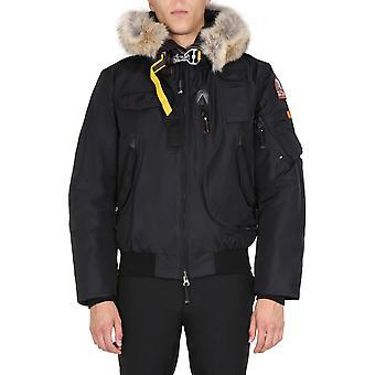 Parajumpers Pmjckma01p02541 Men's Black Nylon Outerwear Jacket