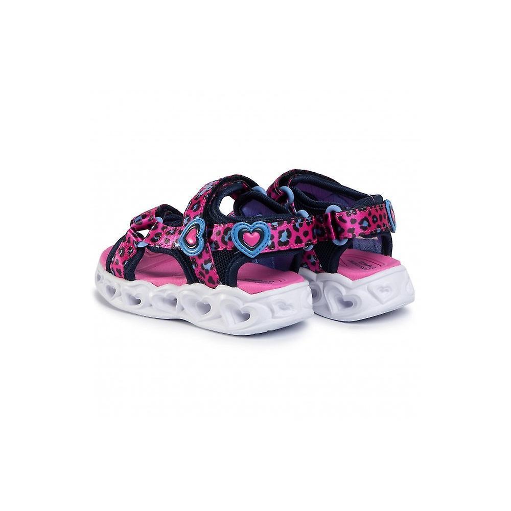 Skechers Heart Lights 302090nhpbl Universal Summer Infants Shoes