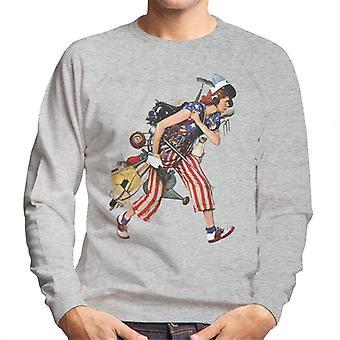 Lørdag aften Post Liberty Girl Norman Rockwell Mænd's Sweatshirt