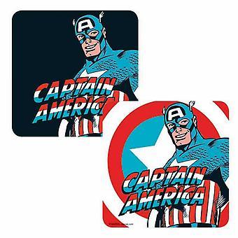 Captain America Coaster Captain America new Official Marvel Lenticular
