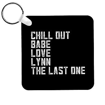 Alan pernice Chill Out Babe Keyring
