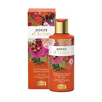 Gocce D'Ambra Scented Lotion 200 ml of cream