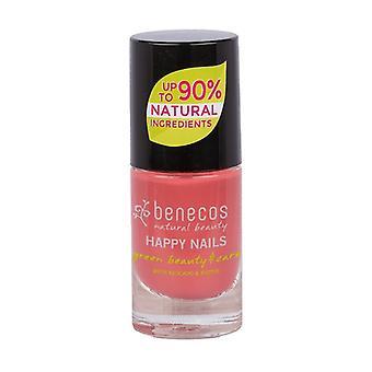 Candy pink nail polish (flamingo) 5 ml