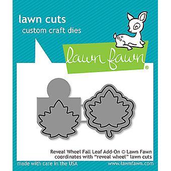 Lawn Fawn Reveal Wheel Fall Leaf Add-On stirbt