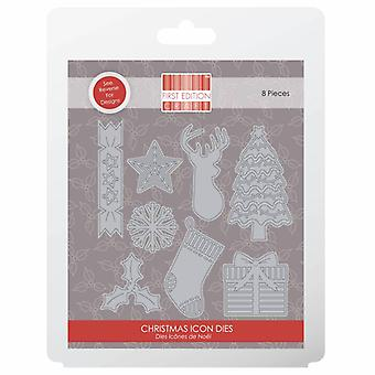 First Edition Christmas Die - Christmas Icons