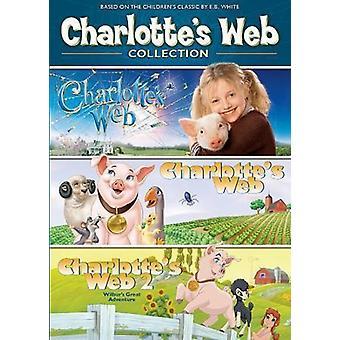 Charlotte's Web 3-Pack [DVD] USA import