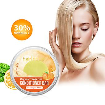 Bio-Haar Tangerine Conditioner Bar handgefertigt