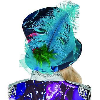Bubble Hat Seifenblasen Hut Zylinder Tüll Federhut