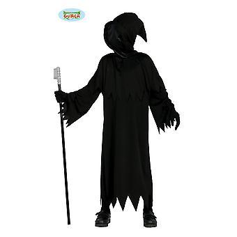 Digerdöden kostym för barn bödel känsla man Halloweenkostym