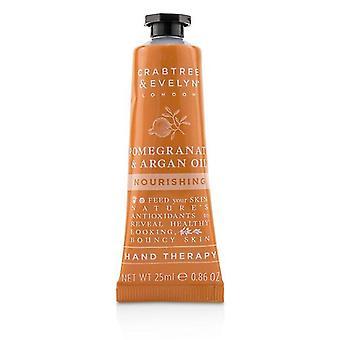Crabtree & Evelyn Granada y terapia de la mano de alimentación de aceite de argán 25ml/0,86 oz
