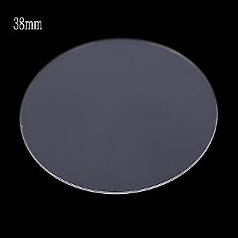Universal Round Tempered Glass - Protective Film Screen Protector Cover For Armani Moto Xiaomi Smart Watch