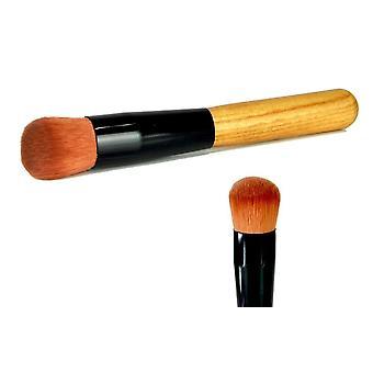 Kabuki Style Flat Angled Face Blending Makeup Brush