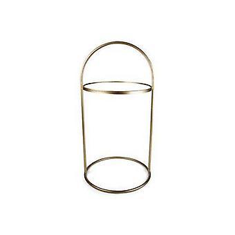 Vidrio de mesa/metal Oro H71 cm