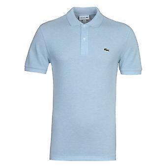 Lacoste Blue Slim Fit Pique Polo Shirt
