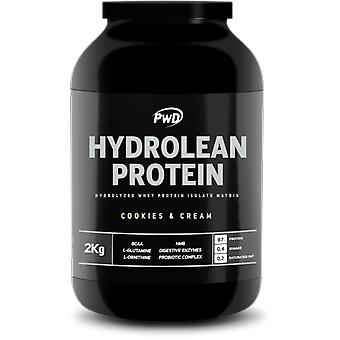 PWD Nutrition Hydrolean Protein Cookies & Cream 2 Kg
