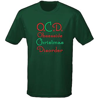 Obsessive Christmas Disorder OCD Xmas Mens T-Shirt 10 Colours (S-3XL) by swagwear