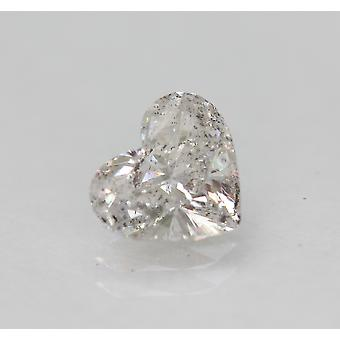 Sertifioitu 0,74 karat G Väri SI1 Sydän Enhanced Natural Loose Diamond 6.69x5.87m