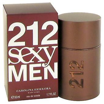 212 sexy Eau De Toilette Spray da Carolina Herrera 1.7 oz Eau De Toilette Spray