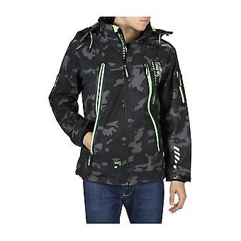 Geographical Norway - Clothing - Jackets - Torry_man_camo_black-green - Men - black,green - XXXL