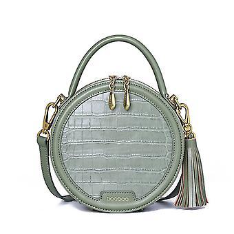 Pieni pyöreä laukku olkapää messenger käsilaukku