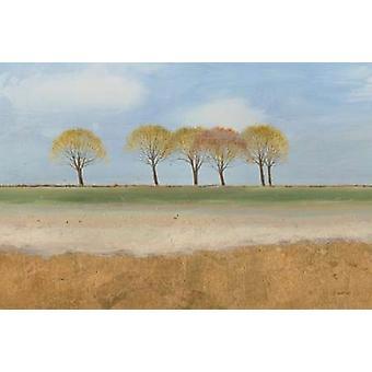 Landskapet horisonten Poster trykk av James Wiens