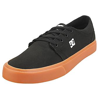 DC Shoes Trase Tx Mens Casual Trainers in Black Gum