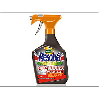 Westland Resolva Xtra Tough Weedkiller Ready To Use 1L