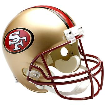 Riddell VSR4 Replica Helmet - San Francisco 49ers 1996-2008