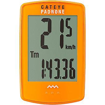 CatEye Padrone Wireless Cycling Computer - CC-PA100W - Orange
