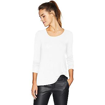 Marca - Daily Ritual Women's Jersey manga larga Scoop-Neck Swing Camisa...