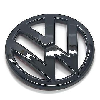 Kiiltävä Musta VW Volkswagen Scirocco Takasaappaan kannen tavaratilamerkki Tunnus 90mm 2009 Eteenpäin