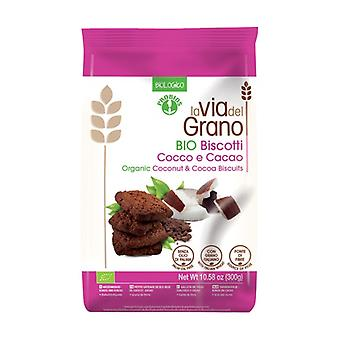 Coconut and cocoa biscuits 300 g