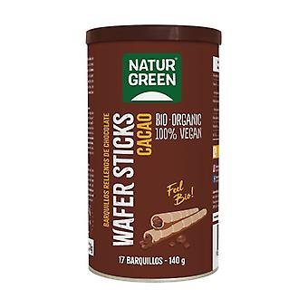 Organic Vegan Chocolate Waffles 140 g