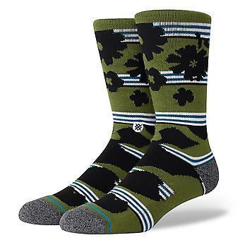 Stance Inline Men's Socks ~ Berner green