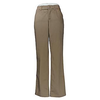 Lee Women's Pants Flex Motion Straight Leg Beige 86
