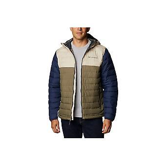 Columbia Powder Lite Chaqueta con capucha 1693931397 universal todo el año chaquetas para hombre