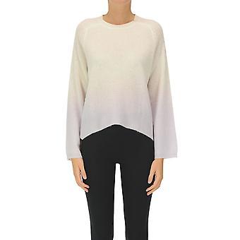 360 Cashmere Ezgl150003 Women's Beige Cashmere Sweater