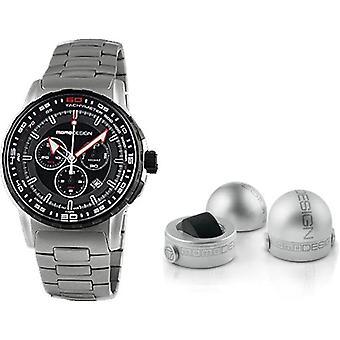 Momo design watch pilot pro chrono quarzo md2164ss-10