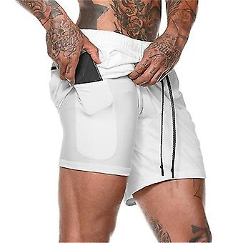 Casual Hurtig Tørring Sport Shorts Fitnesscentre Fitness Bodybuilding Workout Kort