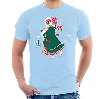Holly Hobbie Christmas Dress Men's T-Shirt