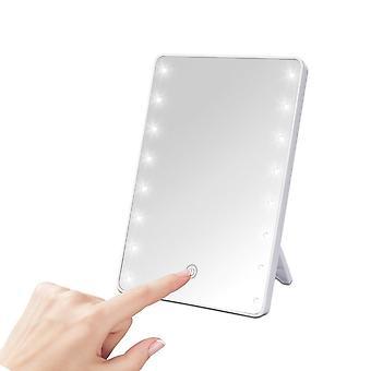 Professionele 22 Led Make-up Mirror-draagbare Rotatie Ijdelheid Lampen Lamp