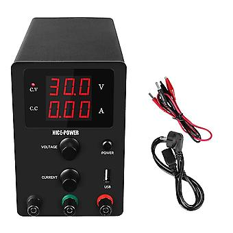 Usb Dc Laboratory 60v 5a Regulated Lab Power Supply