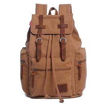 Vintage Canvas, Travel Laptop, Backpack School Bag