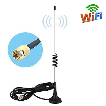 Aigital sma antenna 10dbi 4g lte antenna omni directional wifi antenna 2g/3g/gsm with magnet base&3m