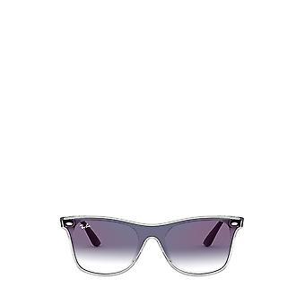 Ray-Ban RB4440N matte trasparent unisex sunglasses
