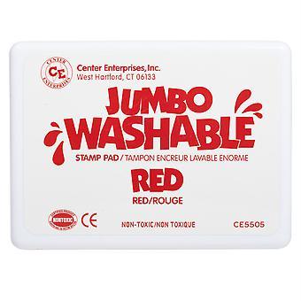 Jumbo Washable Stamp Pad, Red