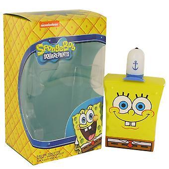 Spongebob Squarepants by Nickelodeon Eau De Toilette Spray (New Packaging) 3.4 oz / 100 ml (Men)